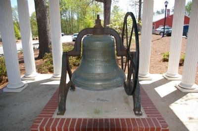 The Braselton School Bell image. Click for full size.
