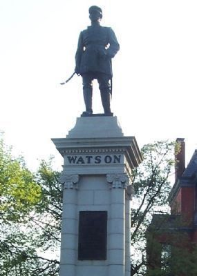 """Watson Monument"" image. Click for full size."