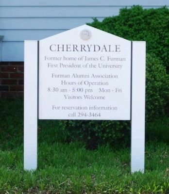 Cherrydale Sign image. Click for full size.