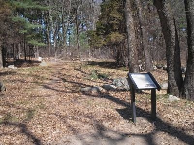 Marker in Minute Man Park image. Click for full size.