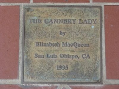 The Cannery Lady image. Click for full size.
