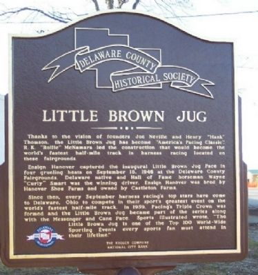 Little Brown Jug Marker (Side B) image. Click for full size.