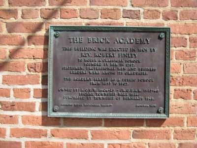 The Brick Academy Marker image. Click for full size.