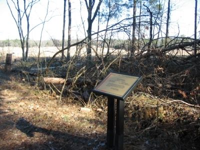 Second Brigade Marker along the Railroad Bed image. Click for full size.