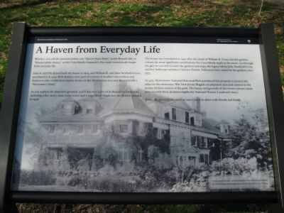 A Haven From Everyday Life Marker image. Click for full size.
