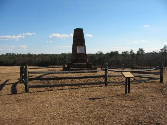 Second Bull Run Monument image. Click for full size.