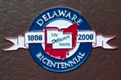 Delaware Bicentennial Logo image. Click for full size.