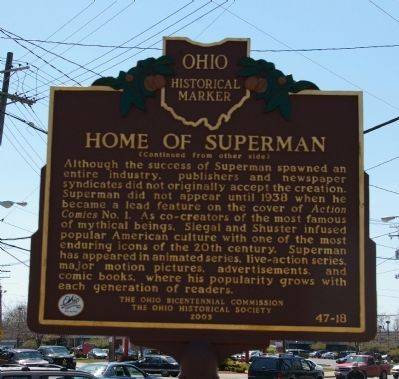 Home of Superman Marker image. Click for full size.