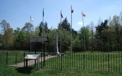 Huguenot Springs CWT Marker & UDC Monument image. Click for full size.