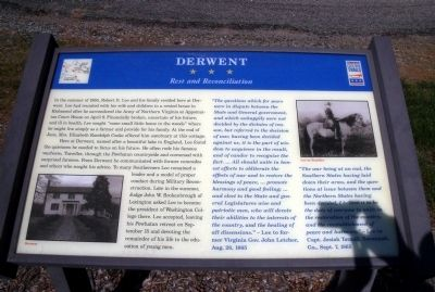 Derwent CWT Marker image. Click for full size.