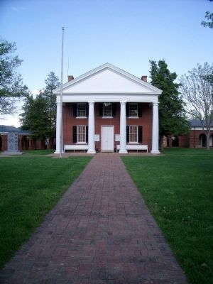 Goochland County Courthouse image. Click for full size.
