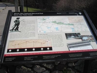 Minute Man Visitor Center Marker image. Click for full size.