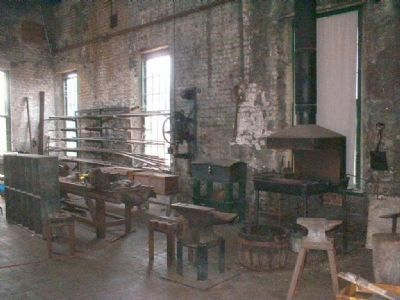 Inside the Blacksmith shop image. Click for full size.