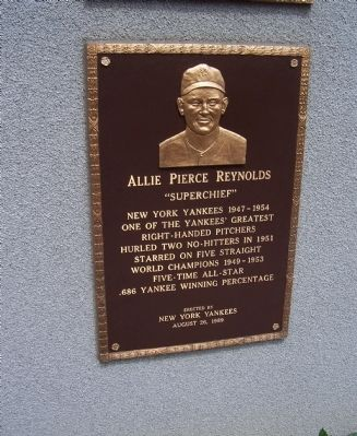 Allie Pierce Reynolds Marker image. Click for full size.