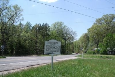 Huguenot Trail & Venita Road (facing west) image. Click for full size.