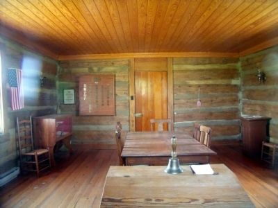 Muddy Creek School Interior image. Click for full size.