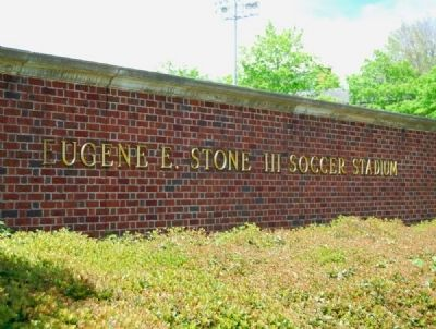 Eugene E. Stone III Soccer Stadium Entrance image. Click for full size.