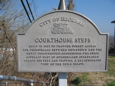Courthouse Steps Marker image. Click for full size.