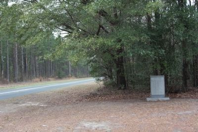 John Jacob Heyer Marker, seen along Confederate Hwy (SC 641), looking west image. Click for full size.