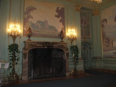 Ballroom Fireplace image. Click for full size.