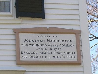 House of Jonathan Harrington Marker image. Click for full size.