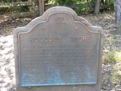 Woodside Store Marker image. Click for full size.