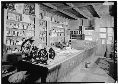 Woodside Store - Interior image. Click for full size.
