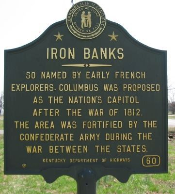 Iron Banks Marker image. Click for full size.