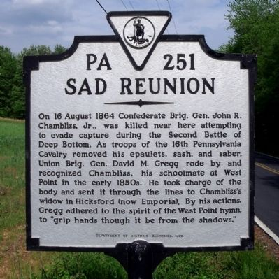 Sad Reunion Marker image. Click for full size.
