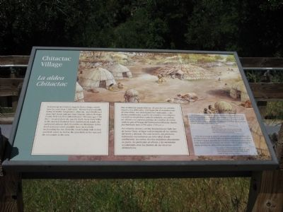 Interpretive Marker Along the Trail image. Click for full size.