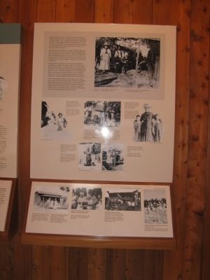 Information Station in the Interpretive Shelter image. Click for full size.
