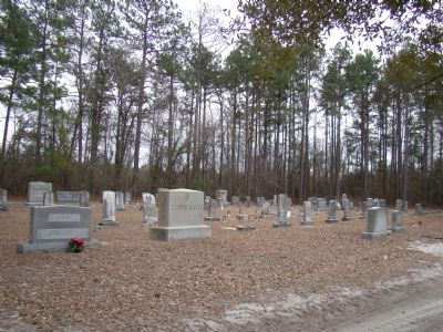 Pee Dee Church Cemetery image. Click for full size.