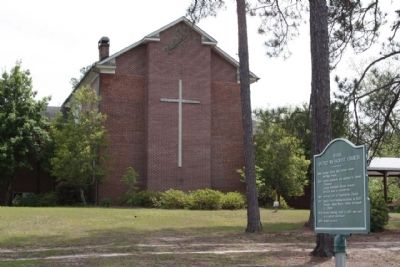 Daisy United Methodist Church and Marker image. Click for full size.