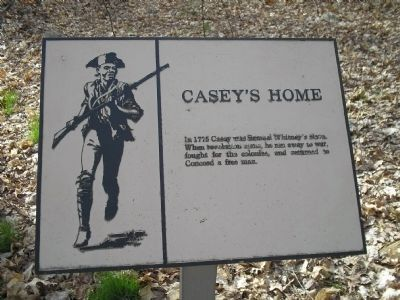Casey's Home Marker image. Click for full size.