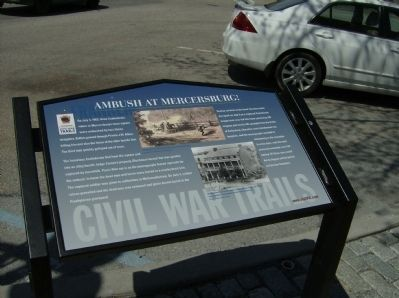 Ambush at Mercersburg Marker image, Touch for more information