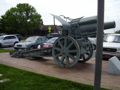210MM German Howitzer Marker image. Click for full size.