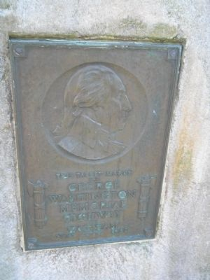 George Washington Memorial Highway Marker image. Click for full size.
