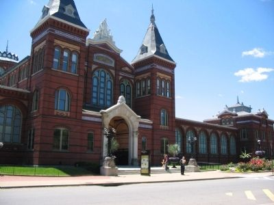 Arts and Industries Building image. Click for full size.