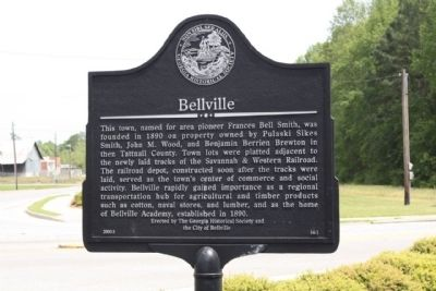 Bellville Marker image. Click for full size.
