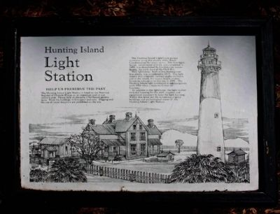 Hunting Island Light Station Marker image. Click for full size.