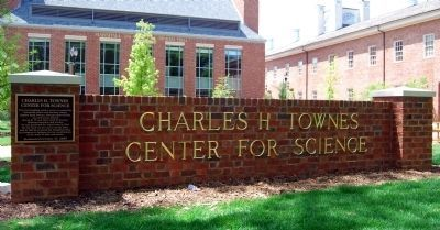 Charles H. Townes Center for Science image. Click for full size.