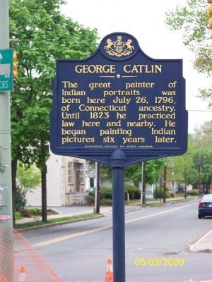 George Catlin Marker image. Click for full size.