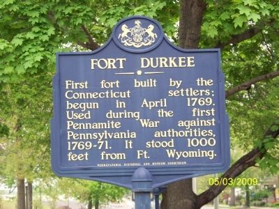 FORT DURKEE Marker image. Click for full size.