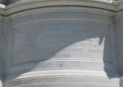 Close Up of Inscription image. Click for full size.