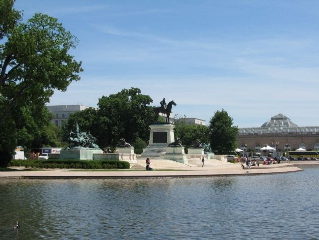 Ulysses S. Grant Memorial image. Click for full size.