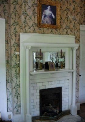 Painting Over Fireplace is of Clelia<br>Peronneau Matthewes McGowan image. Click for full size.