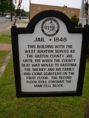 Jail - 1848 Marker image. Click for full size.