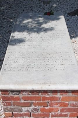 Joseph Du Bignon Grave, listed on marker image. Click for full size.