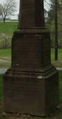 Our Fallen Patriots Marker (North Face) image. Click for full size.
