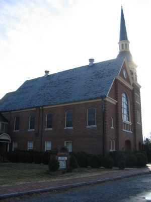 Berryville Baptist Church image. Click for full size.